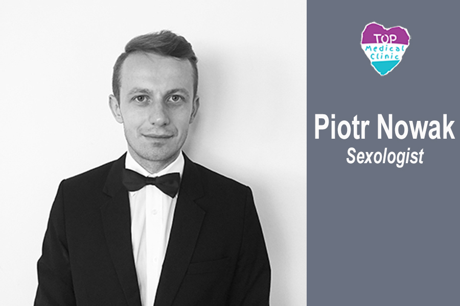 We are very happy to inform you that a new specialist - sexologist Piort Nowak has joined our team.