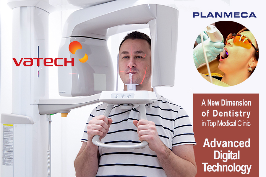 Top Medical Clinic invests in advanced digital technology used in the best dental clinics around the world!