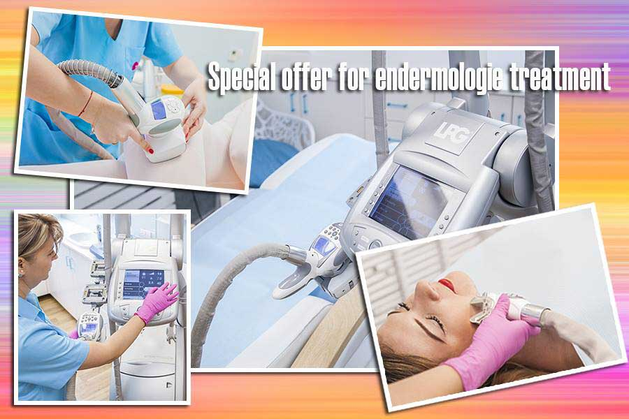 SPECIAL OFFER FOR ENDERMOLOGIE TREATMENT IS VALID UNTIL FURTHER NOTICE!!!